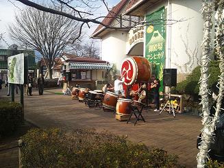 御殿場高原ビールの大太鼓
