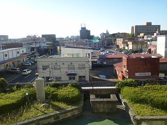アキタパークホテル窓から
