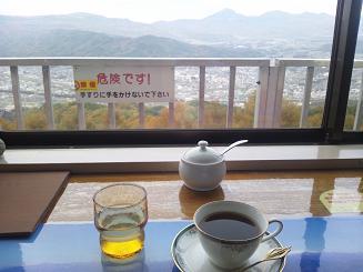 峠の茶屋で珈琲タイム